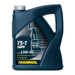 Моторное масло Mannol TS-1 Truck Special 15w40 SHPD 5l