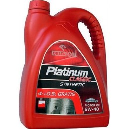 Моторное масло Orlen Platinum Classic Diesel Synthetic 5W-40 4.5L