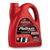 Моторное масло Orlen PLATINUM CLASSIC GAS SYNTHETIC 5W-40 SL 4.5l