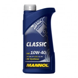 Моторное масло Mannol Classic 10w40 1л SN/CF