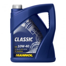 Моторное масло Mannol Classic 10w40 5л